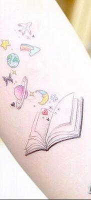 фото тату Книга от 26.12.2017 №043 – tattoo Book – tatufoto.com
