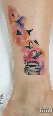 фото тату Книга от 26.12.2017 №075 – tattoo Book – tatufoto.com