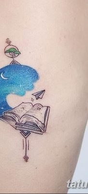 фото тату Книга от 26.12.2017 №079 – tattoo Book – tatufoto.com