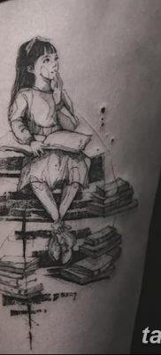 фото тату Книга от 26.12.2017 №080 – tattoo Book – tatufoto.com