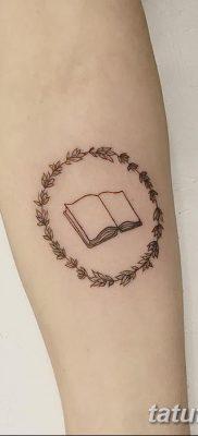 фото тату Книга от 26.12.2017 №093 – tattoo Book – tatufoto.com