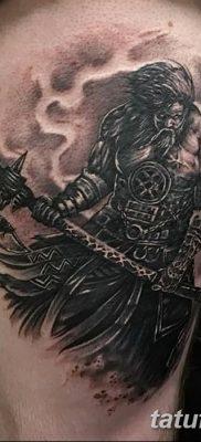 фото тату Перун от 10.12.2017 №004 – tattoo Perun – tatufoto.com