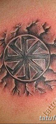фото тату Перун от 10.12.2017 №016 – tattoo Perun – tatufoto.com