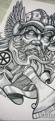 фото тату Перун от 10.12.2017 №021 – tattoo Perun – tatufoto.com