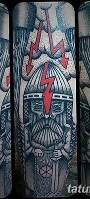 фото тату Перун от 10.12.2017 №022 – tattoo Perun – tatufoto.com