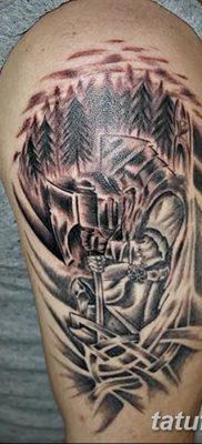 фото тату Перун от 10.12.2017 №023 – tattoo Perun – tatufoto.com