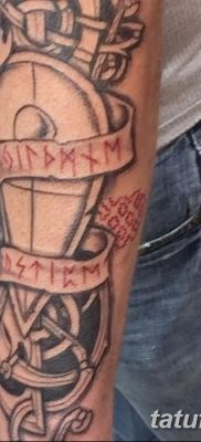 фото тату Перун от 10.12.2017 №026 – tattoo Perun – tatufoto.com