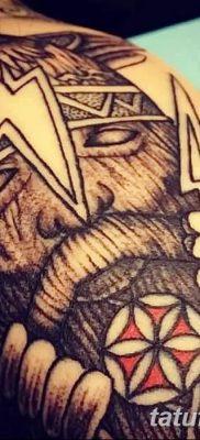 фото тату Перун от 10.12.2017 №030 – tattoo Perun – tatufoto.com