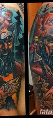 фото тату Перун от 10.12.2017 №042 – tattoo Perun – tatufoto.com