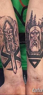 фото тату Перун от 10.12.2017 №044 – tattoo Perun – tatufoto.com