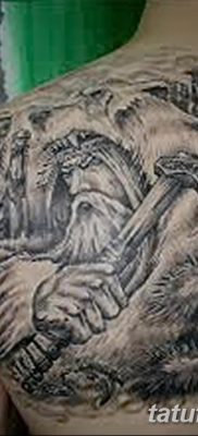 фото тату Перун от 10.12.2017 №054 – tattoo Perun – tatufoto.com