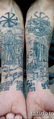 фото тату Перун от 10.12.2017 №059 – tattoo Perun – tatufoto.com
