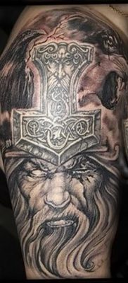 фото тату Перун от 10.12.2017 №061 – tattoo Perun – tatufoto.com