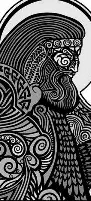 фото тату Перун от 10.12.2017 №062 – tattoo Perun – tatufoto.com