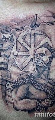 фото тату Перун от 10.12.2017 №068 – tattoo Perun – tatufoto.com