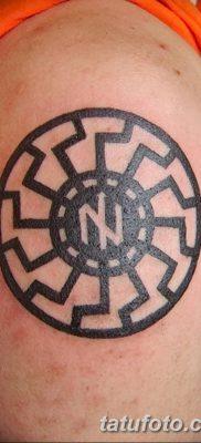 фото тату Перун от 10.12.2017 №070 – tattoo Perun – tatufoto.com 2346234