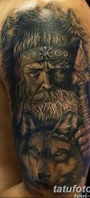 фото тату Перун от 10.12.2017 №076 – tattoo Perun – tatufoto.com
