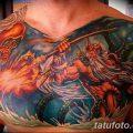 фото тату Перун от 10.12.2017 №077 - tattoo Perun - tatufoto.com