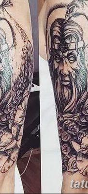 фото тату Перун от 10.12.2017 №079 – tattoo Perun – tatufoto.com