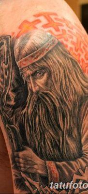 фото тату Перун от 10.12.2017 №081 – tattoo Perun – tatufoto.com