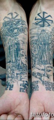 фото тату Перун от 10.12.2017 №082 – tattoo Perun – tatufoto.com