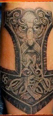 фото тату Перун от 10.12.2017 №084 – tattoo Perun – tatufoto.com