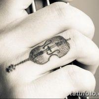 Значение тату «Скрипка»