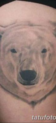фото тату белый медведь от 03.12.2017 №019 – white bear tattoo – tatufoto.com