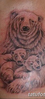 фото тату белый медведь от 03.12.2017 №027 – white bear tattoo – tatufoto.com