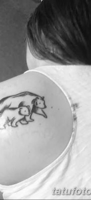 фото тату белый медведь от 03.12.2017 №049 – white bear tattoo – tatufoto.com