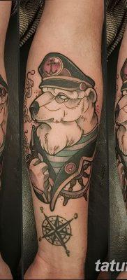 фото тату белый медведь от 03.12.2017 №051 – white bear tattoo – tatufoto.com