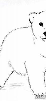 фото тату белый медведь от 03.12.2017 №054 – white bear tattoo – tatufoto.com