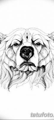 фото тату белый медведь от 03.12.2017 №079 – white bear tattoo – tatufoto.com