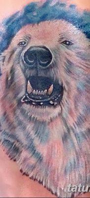 фото тату белый медведь от 03.12.2017 №126 – white bear tattoo – tatufoto.com
