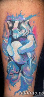 фото тату белый медведь от 03.12.2017 №127 – white bear tattoo – tatufoto.com