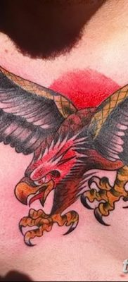 фото тату беркут от 10.12.2017 №007 – golden eagle tattoos – tatufoto.com