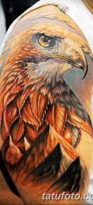 фото тату беркут от 10.12.2017 №015 – golden eagle tattoos – tatufoto.com
