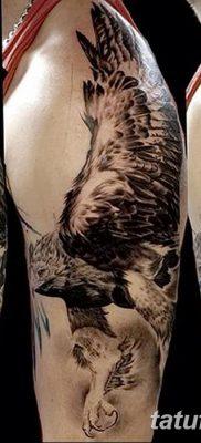 фото тату беркут от 10.12.2017 №019 – golden eagle tattoos – tatufoto.com