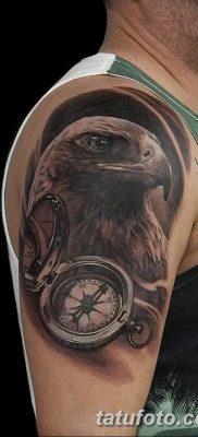 фото тату беркут от 10.12.2017 №020 – golden eagle tattoos – tatufoto.com