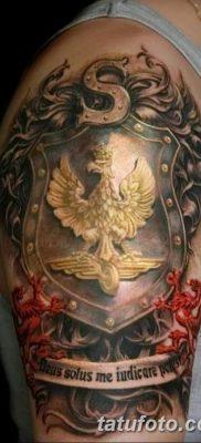 фото тату беркут от 10.12.2017 №024 – golden eagle tattoos – tatufoto.com