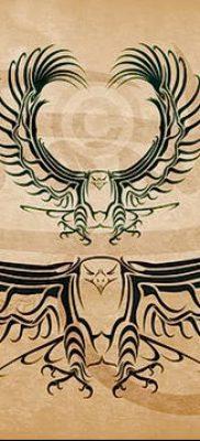 фото тату беркут от 10.12.2017 №038 – golden eagle tattoos – tatufoto.com