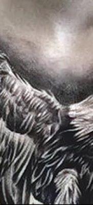 фото тату беркут от 10.12.2017 №046 – golden eagle tattoos – tatufoto.com