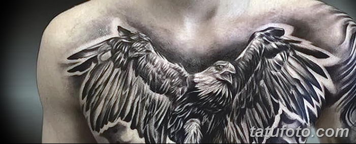 фото тату беркут от 10.12.2017 №046 - golden eagle tattoos - tatufoto.com