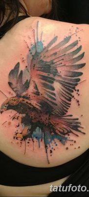 фото тату беркут от 10.12.2017 №050 – golden eagle tattoos – tatufoto.com