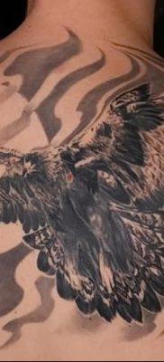 фото тату беркут от 10.12.2017 №060 – golden eagle tattoos – tatufoto.com