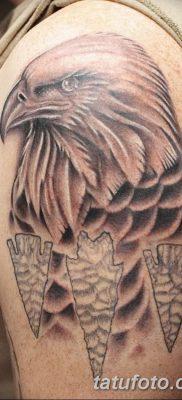 фото тату беркут от 10.12.2017 №061 – golden eagle tattoos – tatufoto.com