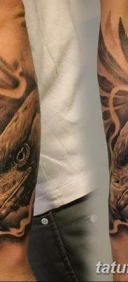 фото тату беркут от 10.12.2017 №071 – golden eagle tattoos – tatufoto.com