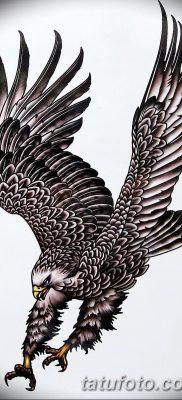 фото тату беркут от 10.12.2017 №082 – golden eagle tattoos – tatufoto.com