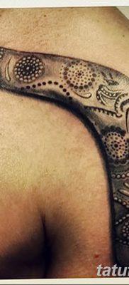 фото тату бумеранг от 10.12.2017 №010 – boomerang tattoo – tatufoto.com