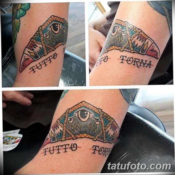 фото тату бумеранг от 10.12.2017 №017 - boomerang tattoo - tatufoto.com